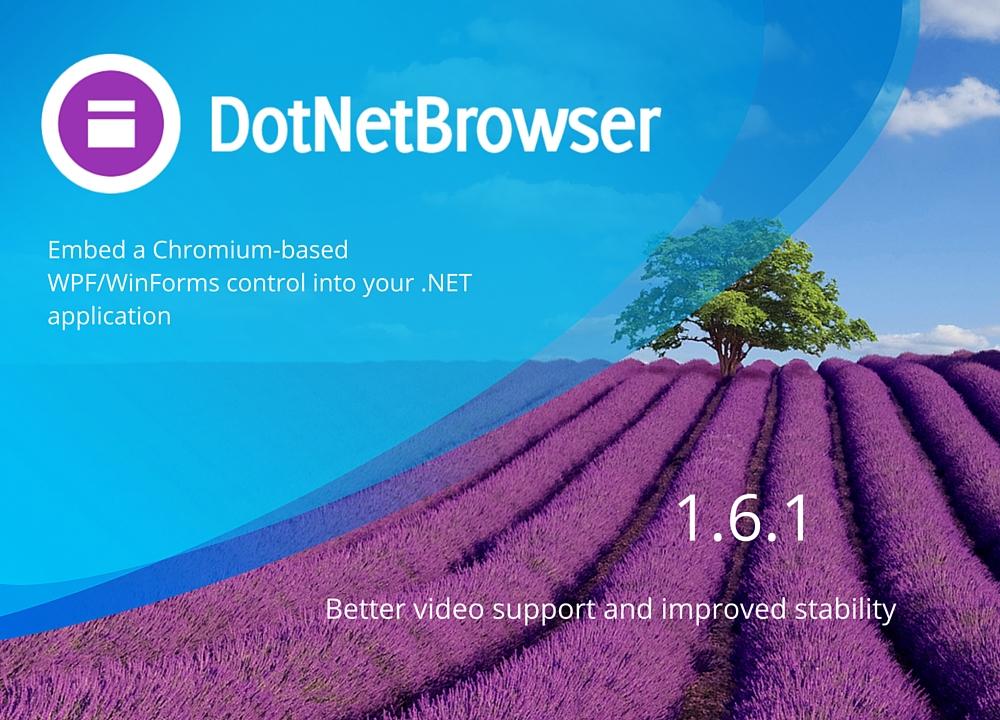 DotNetBrowser - 1.6.1