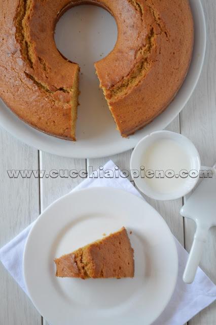 torta di albumi e limone