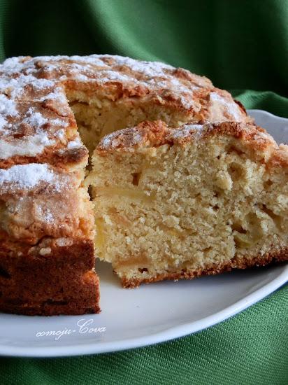 Irish Apple Cake With Butterscotch Chips