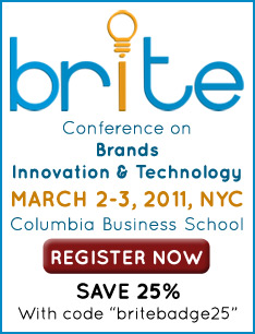BRITE '11, March 2-3 in NYC