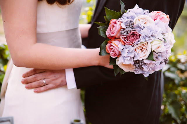 ramo peonias flor artificial bossvi bouquet romantic romántico atodoconfetti