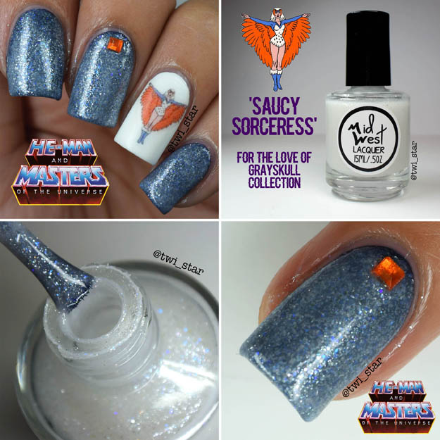 MidWest Lacquer For The Love of Grayskull He-Man Saucy Sorceress