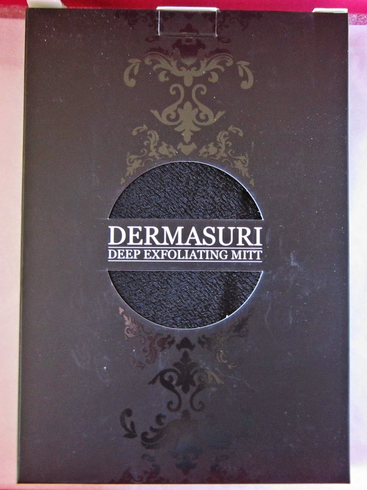 Dermasuri Deep Exfoliating Mitt