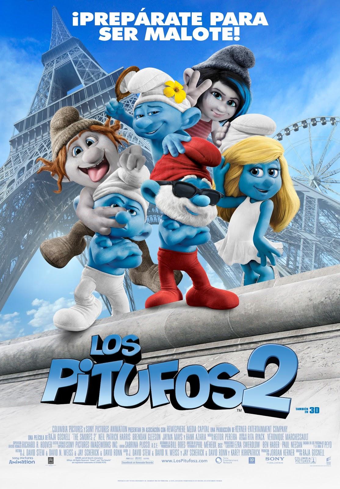 Los Pitufos 2   Cartel Final Los Pitufos 2 [2013] [DvdRip] [Latino]