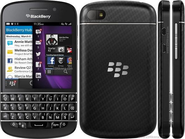 Nuevo BlackBerry Q10 para amantes del teclado, Precios