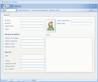 base de datos de contactos de negocios