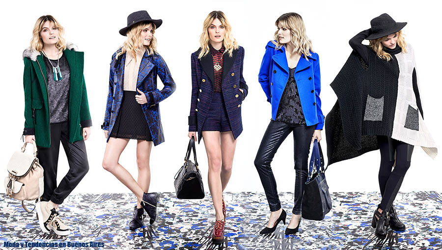 Camperas, sacos, tapados, abrigos otoño invierno 2015 Vitamina. Moda otoño invierno 2015.