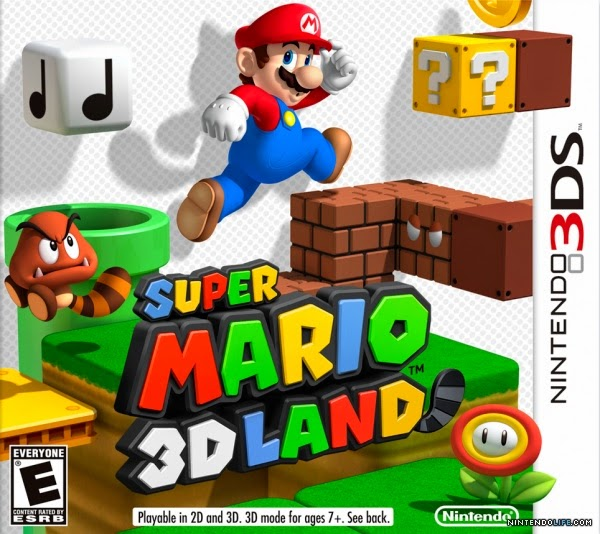 3DS Super Mario 3D Land Cover