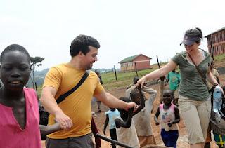 Africa volunteers