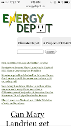 November 17, 2014: Green Corruption Files Found on Energy Depot