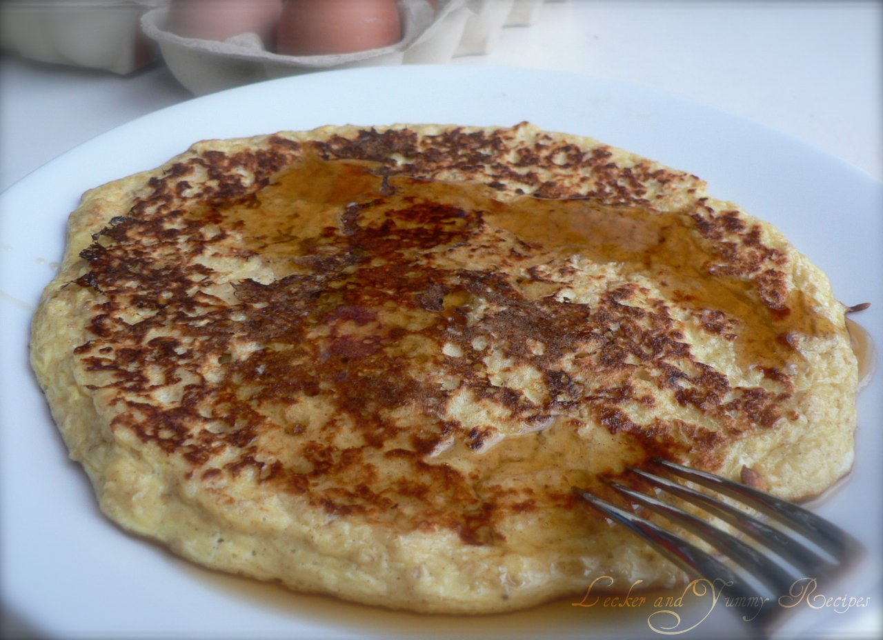 Lecker and yummy recipes egg pancake with oats and quark egg pancake with oats and quark forumfinder Choice Image