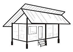 Capit Gunting Yaitu Bentuk Bangunan Rumah Yang Atap Suhunan Bagian Ujung Belakang Atas Dan Depan Atas Menggunakan Kayu Atau Bambu Yang Bentuknya