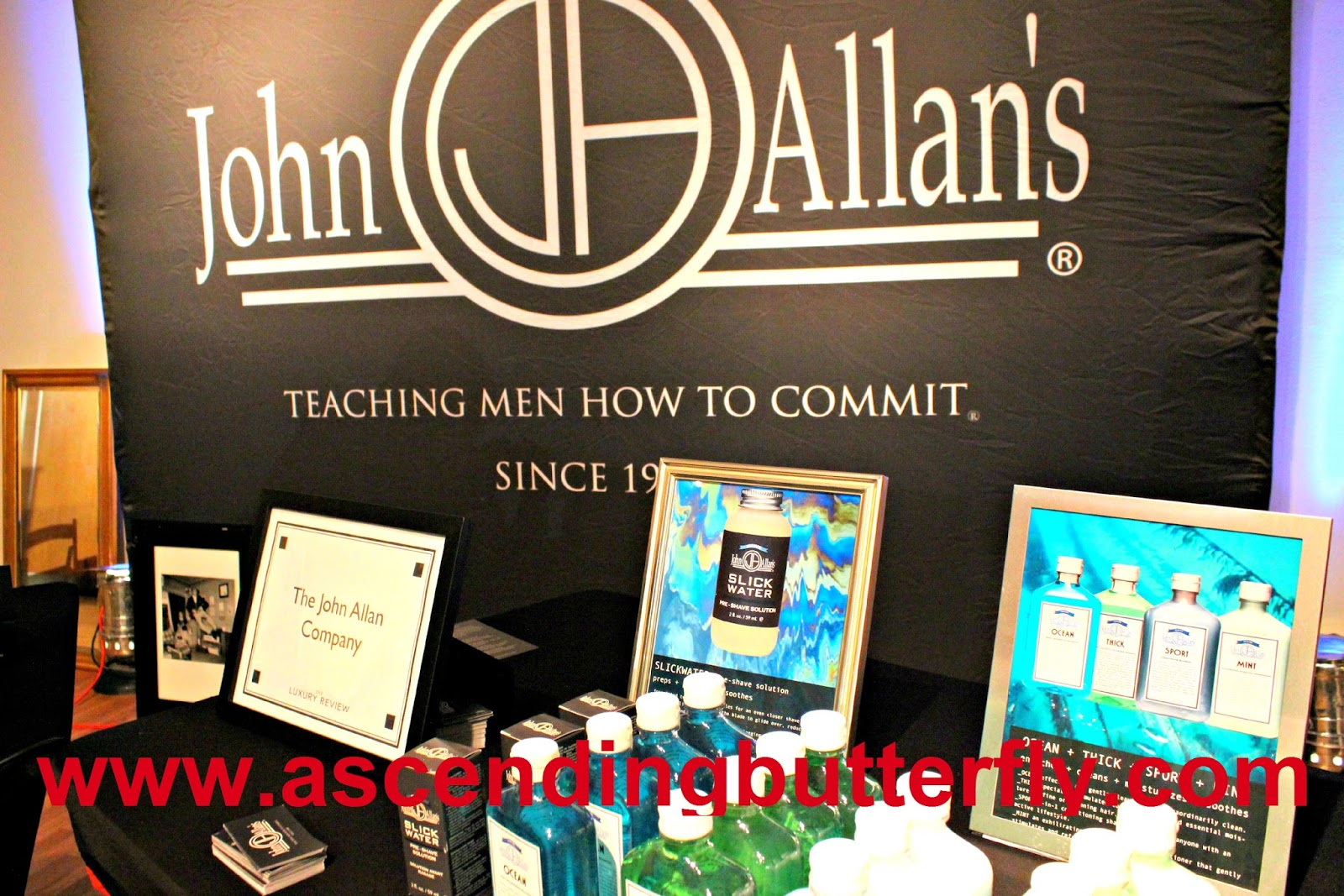 The John Allen Company The Luxury Review Fall 2014, John Allan's Premiere Men's Grooming Club