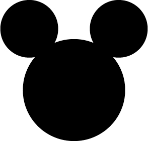 Vector Mickey Mouse Ears | Joy Studio Design Gallery - Best Design