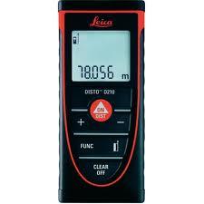 Jual Meteran Laser / Distometer Leica D210 di Batam