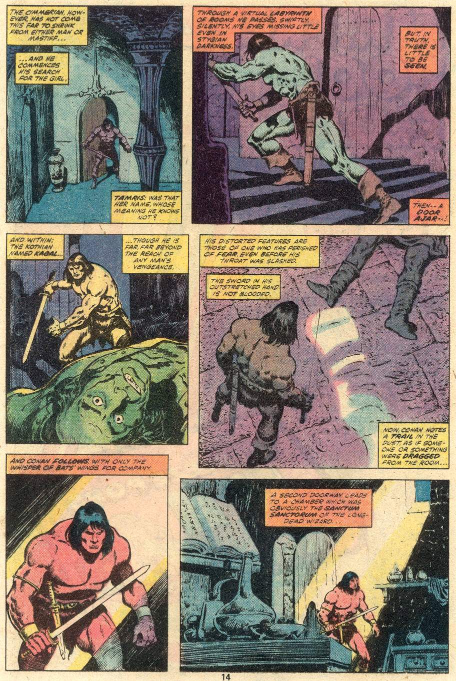 Conan the Barbarian (1970) Issue #114 #126 - English 10
