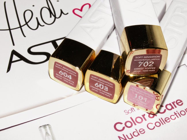 ASTORS Soft Sensation Color & Care Nude Collection