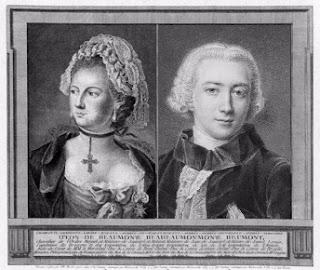Chevalier d'Éon o Mademoiselle Beaumont. Espia