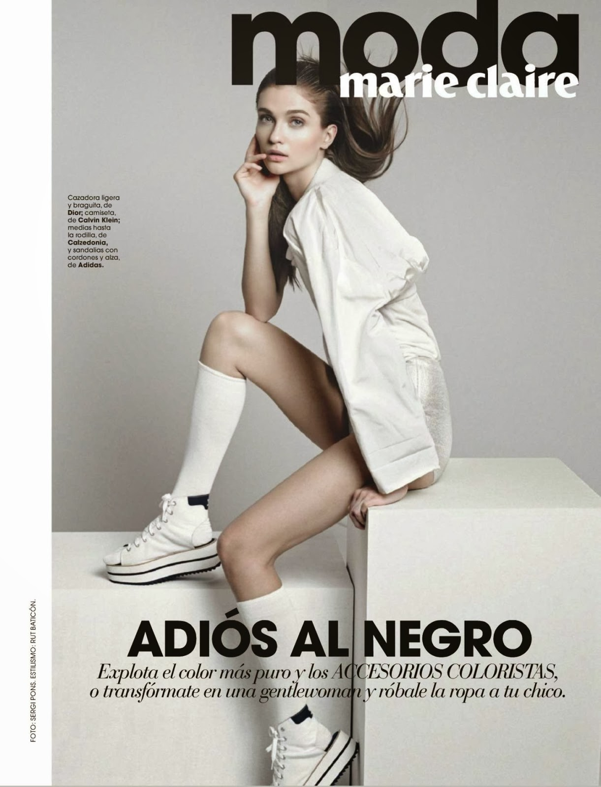 Ella Kandyba Marie Claire Spain Magazine Photoshoot February 2014