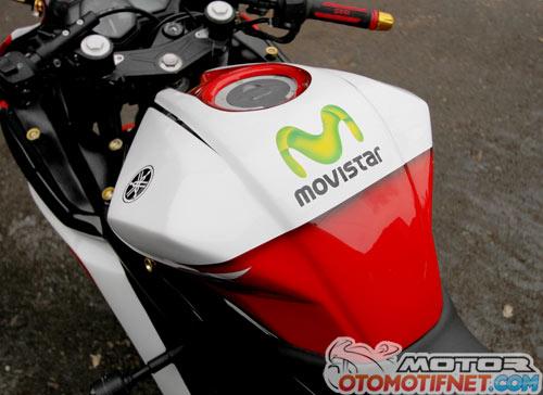 Modifikasi Yamaha YZF-R25 Edisi MotoGP
