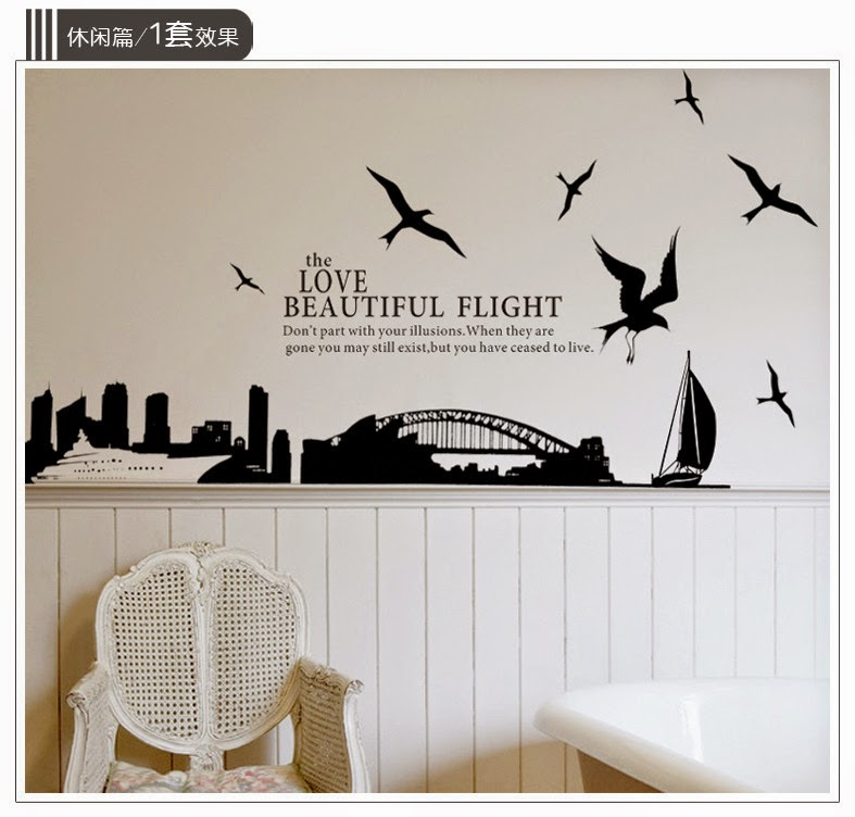 seputar wall sticker ( stiker/ gambar dinding ) ~ share n learning
