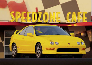 2001 Acura Integra Type R yellow