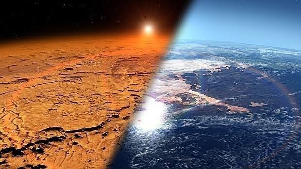 El Planeta rojo era un mundo helado hace 370.000 años