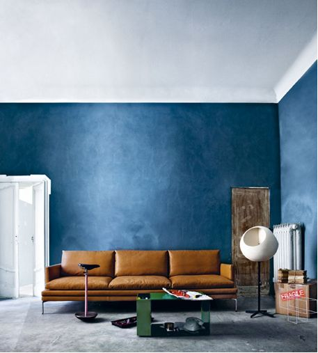 Best Leather Sofa Paint: ANNY&: Trend: Intense, Donkere Kleuren