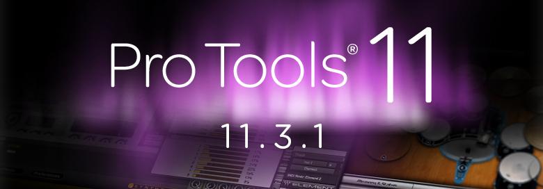 pro tools 11.3.1 yosemite