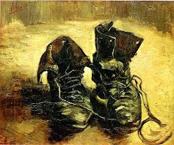 Um par de botas Van Gogh