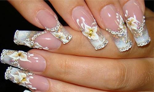 10 Wedding Nail Art Design Http 9ailside Blogspot Com Nail Side