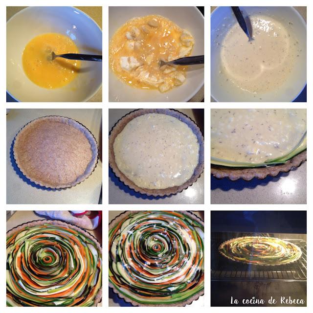 Receta de tarta espiral de verduras 04