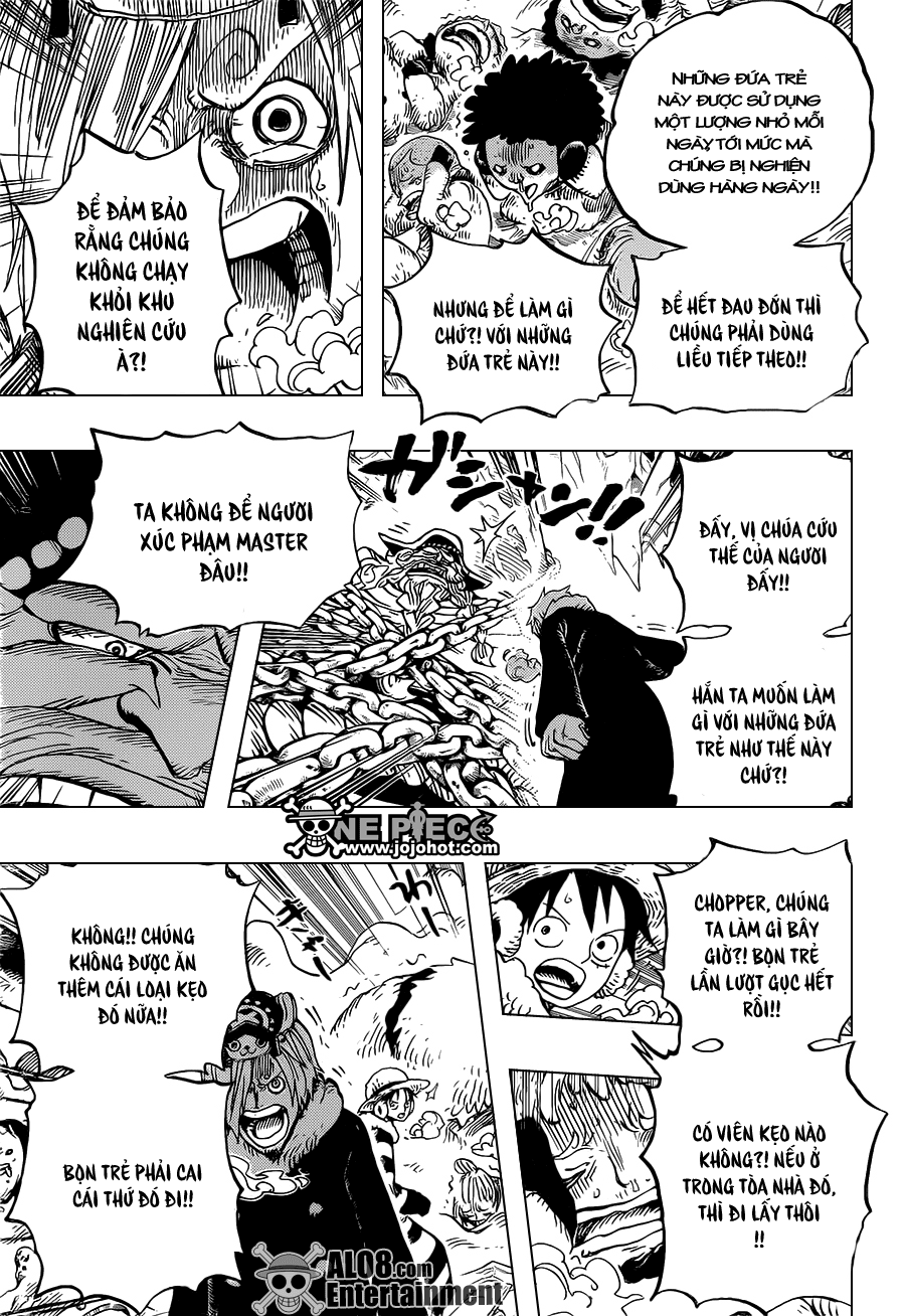 One Piece Chapter 665: Kẹo 009