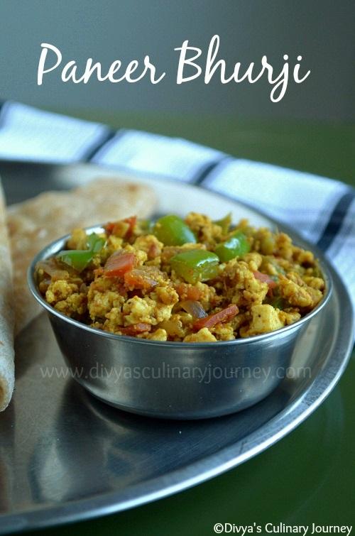 paneer bhurji  - easy paneer recipes