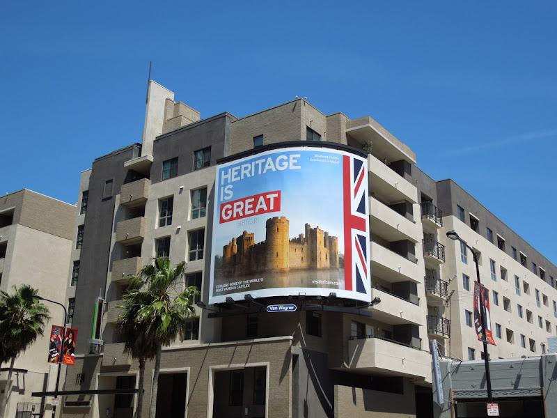 Heritage is Great Britain billboard