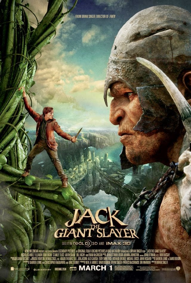 La película Jack the Giant Slayer ( Jack el caza gigantes )