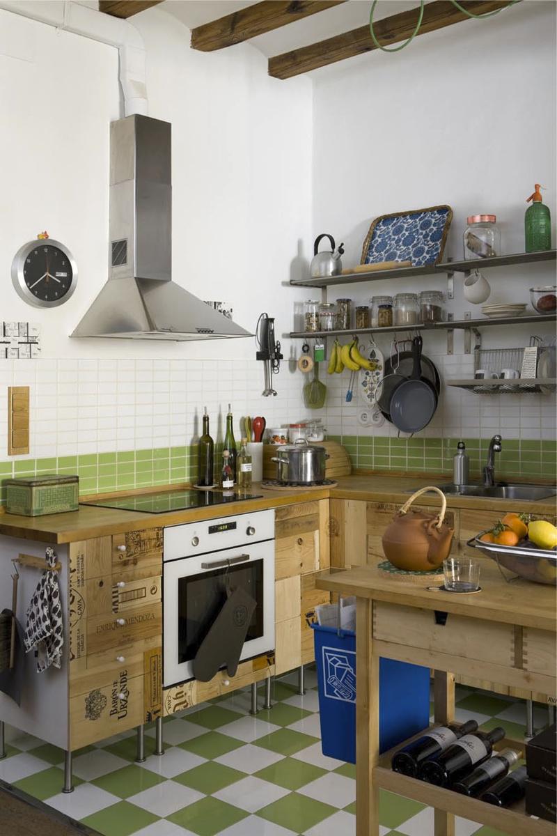 die wohngalerie gr nes leben in barcelona. Black Bedroom Furniture Sets. Home Design Ideas