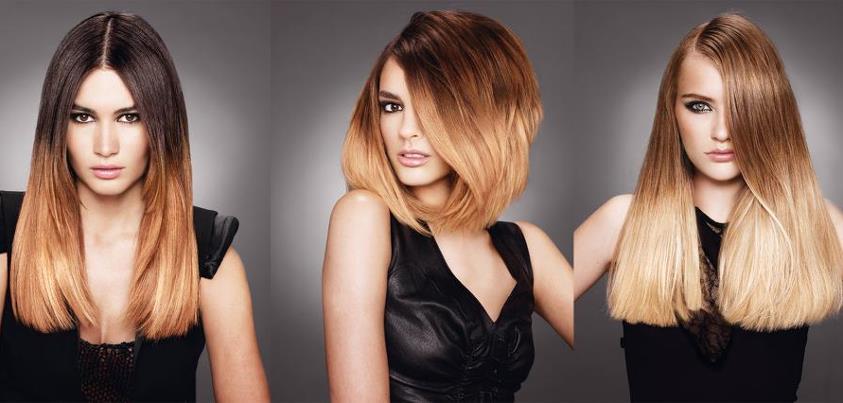 jaurai du obtenir comme la nana gauche en plus on a le mme dgrad - Ombr Hair Maison Sur Cheveux Colors