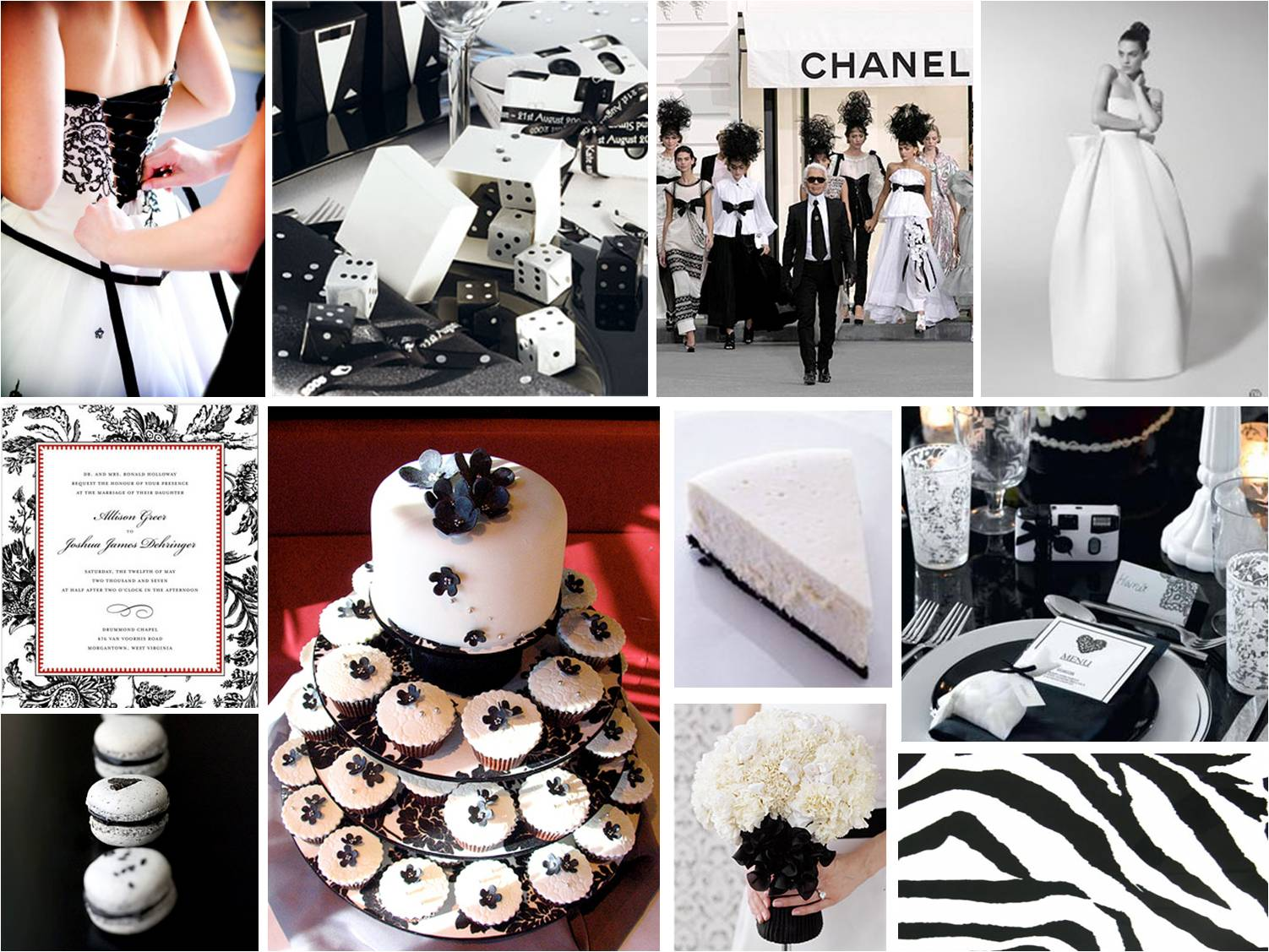 Red Black White Wedding Theme Ideas: Pics photos related pictures ...