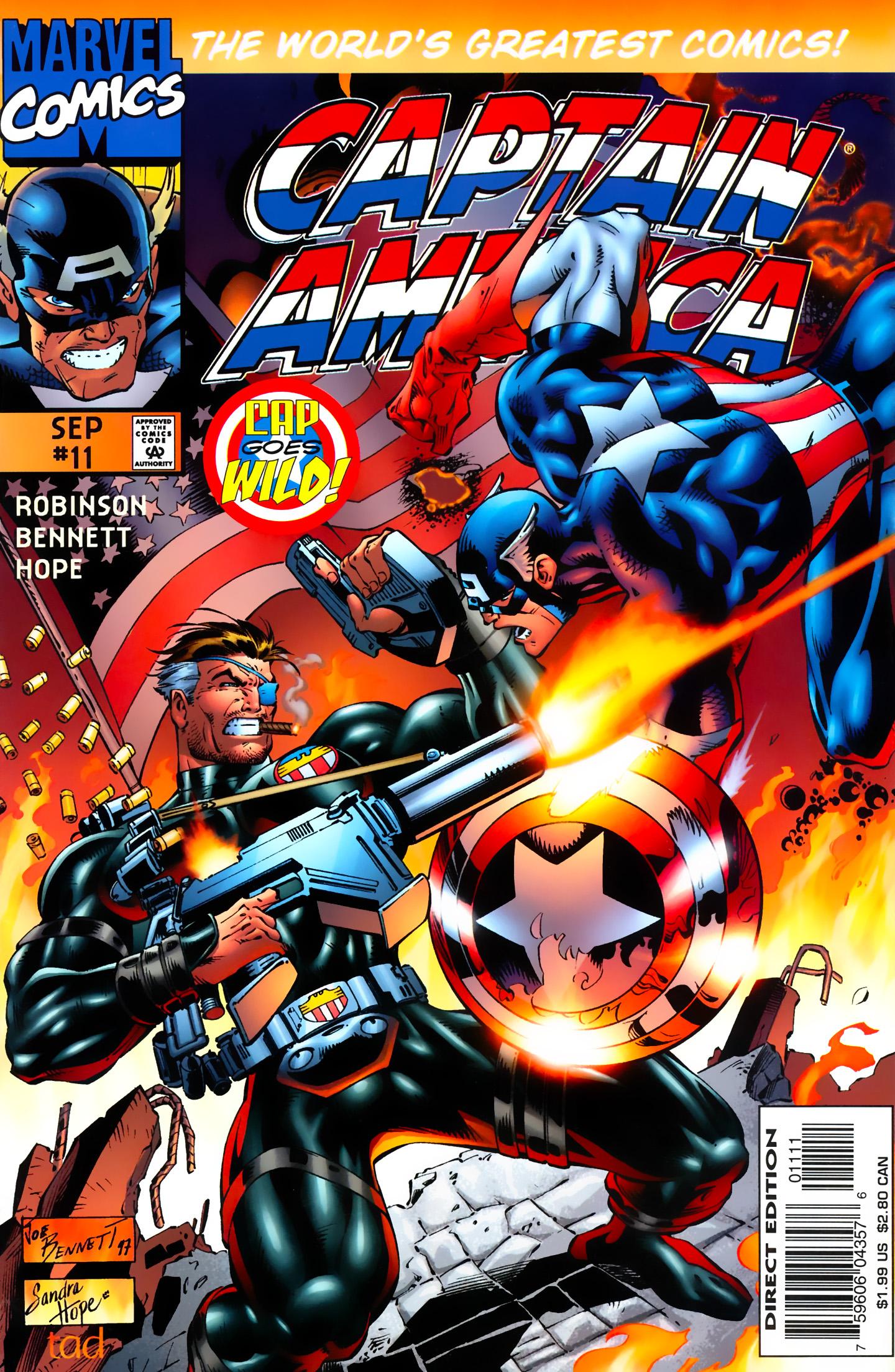 Captain America (1996) Issue #11 #11 - English 1