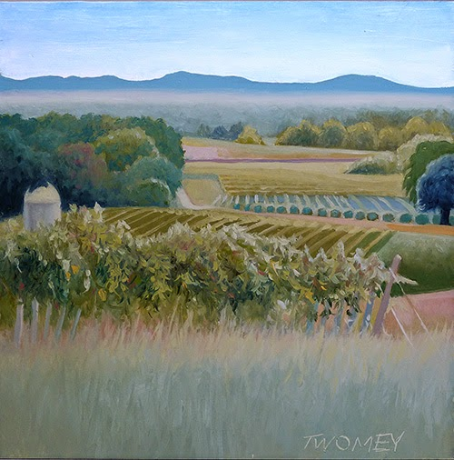 """Grace Vineyards No. 1"" by C. Twomey"