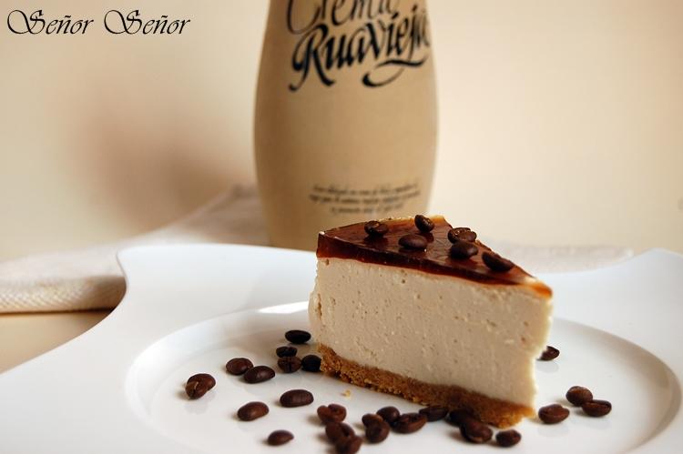 Populares Tarta de crema de orujo, queso Mascarpone y gelatina de café  EQ32