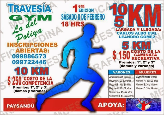 "TRAVESIA  GyM  ""Lo del poliya """