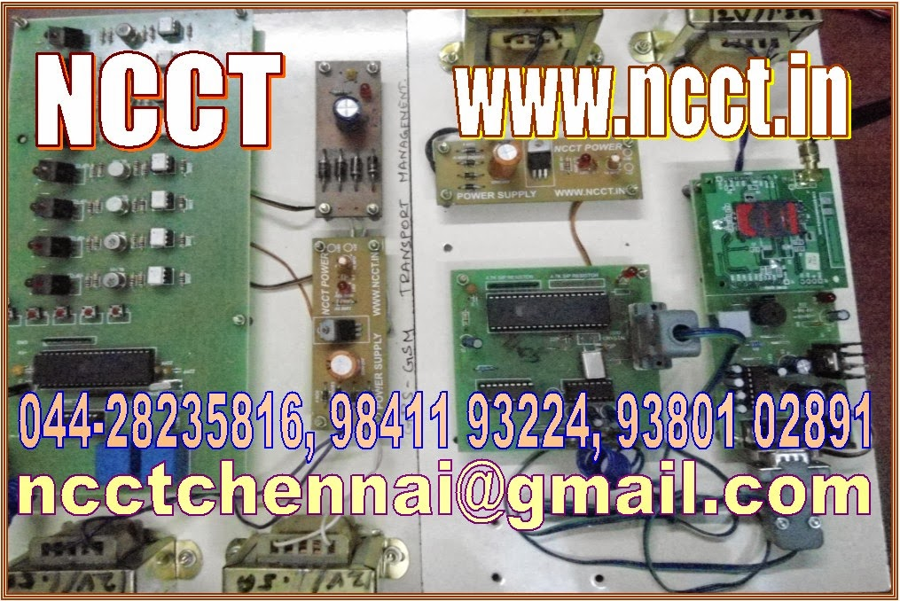NCCT - PROJECT IMAGE GALLERY: Embedded Systems Projects for Final ...