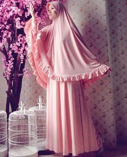 Model Gamis Syar'i Lyra Virna