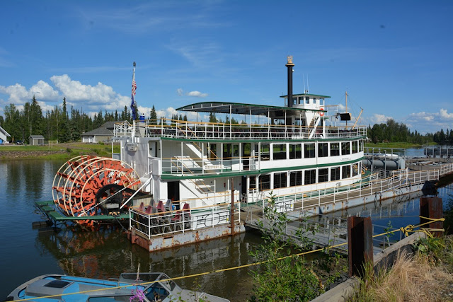 Fairbanks boat trip
