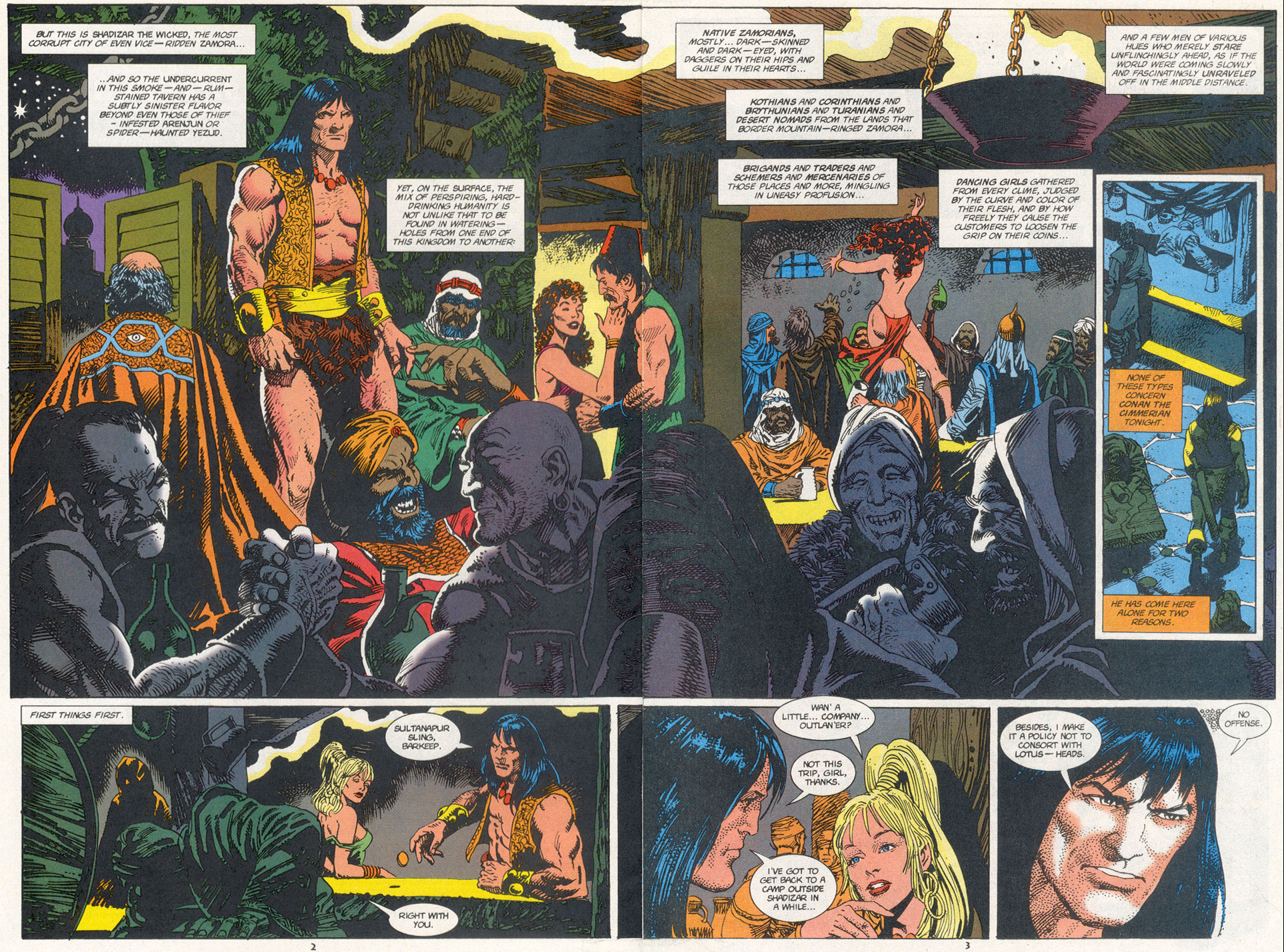 Conan the Barbarian (1970) Issue #273 #285 - English 3