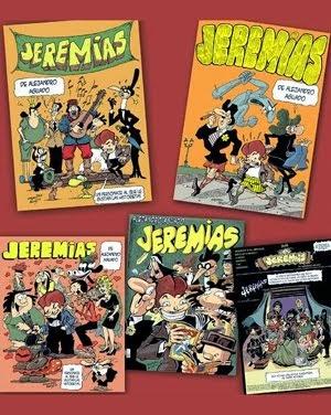 """JEREMIAS """"un personaje al que le gustan las historietas"""""""