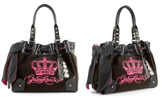 Young learners rock juicy couture brand name bags is for Couture brand names