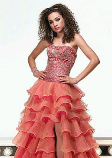 Modern Dresses for sweet sixteen